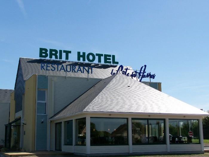 Les chambres du brit hotel la c te des havres lessay for Reservation hotel par mail