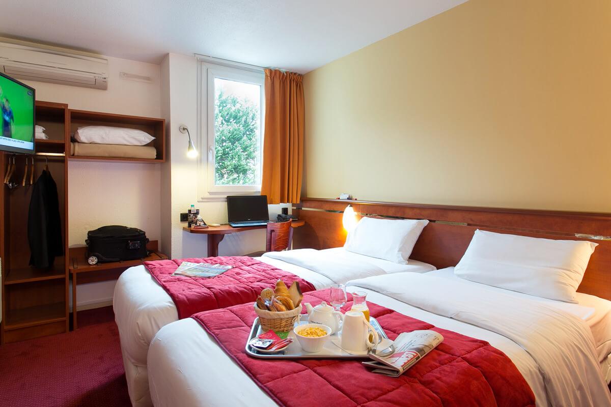 les chambres de l 39 h tel soretel bordeaux m rignac a roport. Black Bedroom Furniture Sets. Home Design Ideas