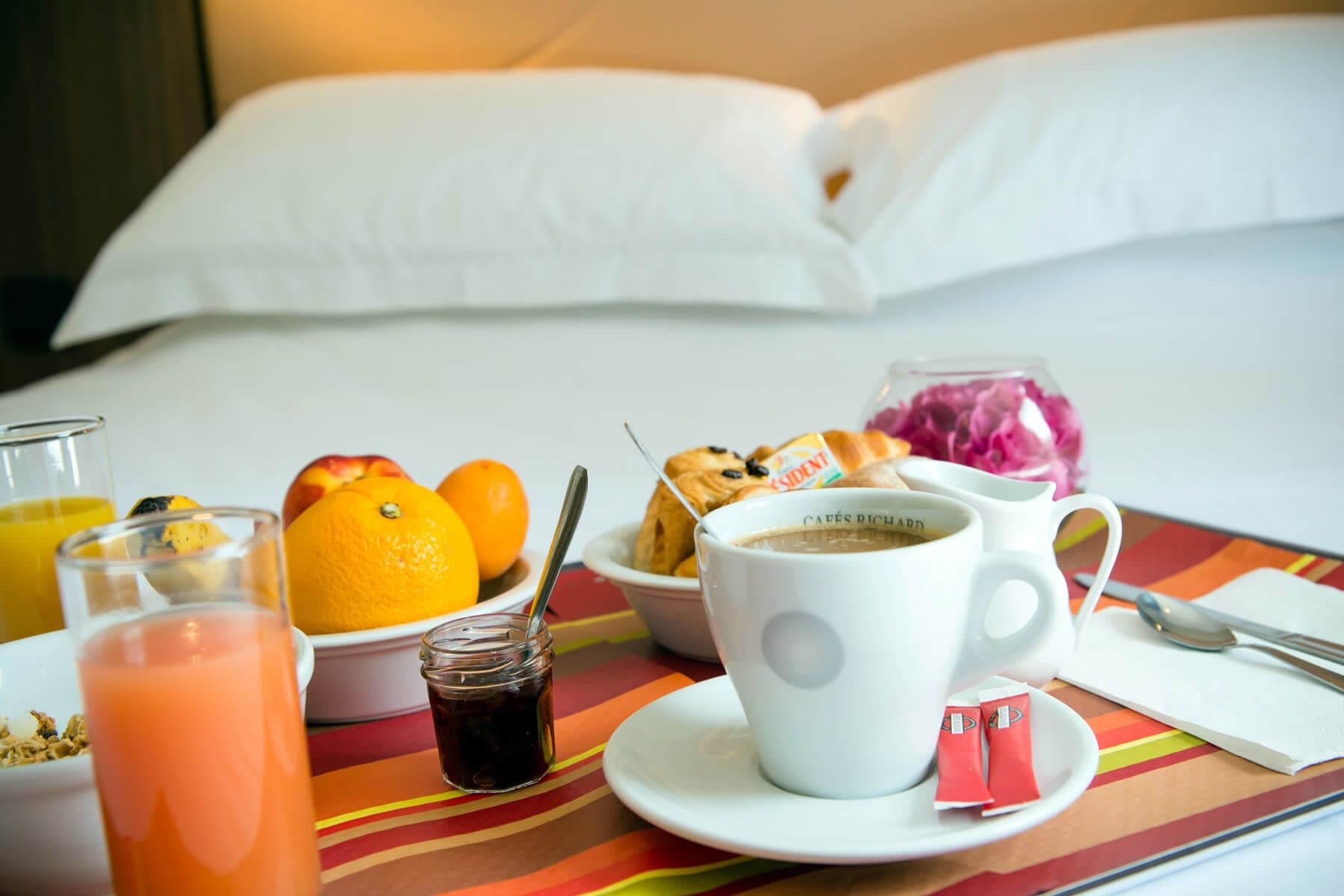 Les chambres d h tel du brit hotel le kerann saint herblain - Petit dejeuner nantes ...